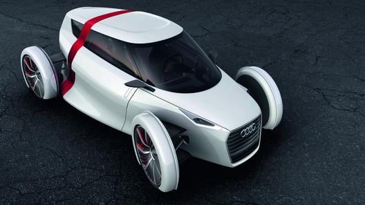 Audi распространила новые изображения концепта Urban