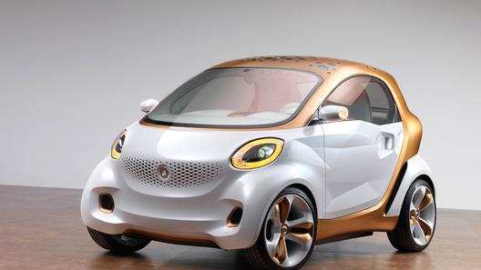 Smart намекнет на свое будущее концептом Forvision