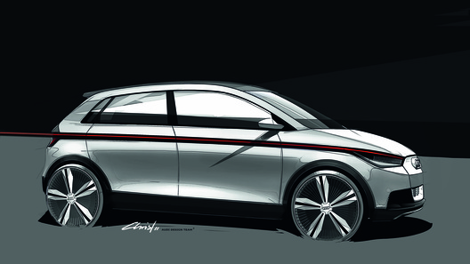 Audi анонсировала электроконцепт A2 для Франкфурта