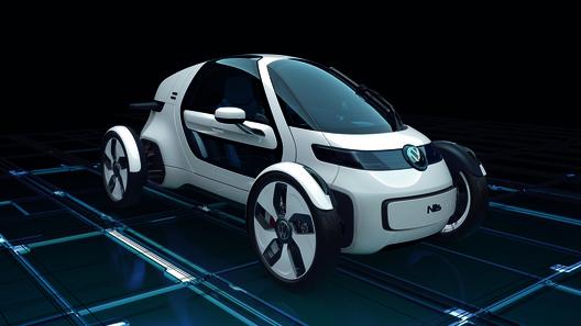 Volkswagen обнародовал очередной одноместный концепт