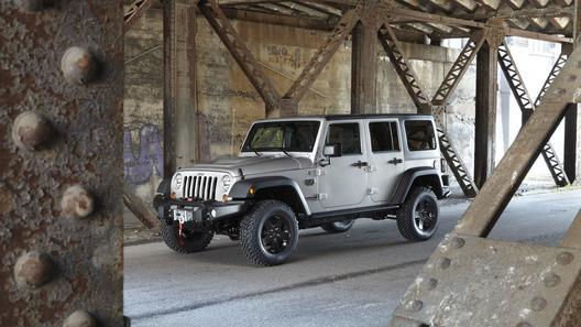 В Jeep построили Wrangler для геймеров