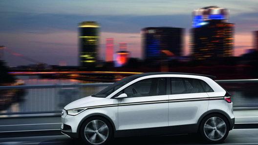 Audi показала реальные изображения концепта A2