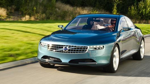 Компания Volvo рассекретила новый прототип