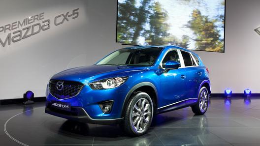 Новый кроссовер Mazda CX-5 будет стоить от 911 000 рублей