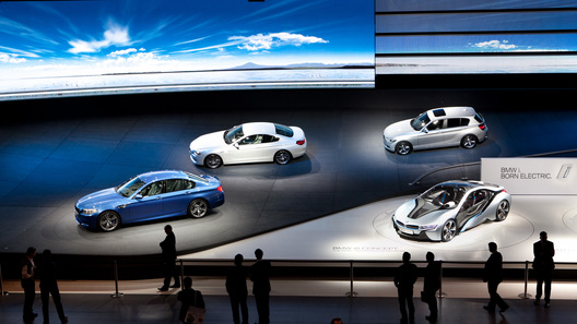 BMW провел во Франкфурте шесть мировых премьер