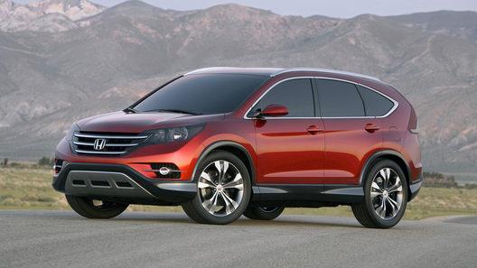 Honda распространила новые фото концепта CR-V