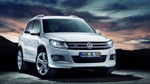 Volkswagen Tiguan получил более спортивный имидж