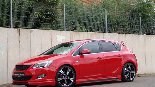 В Senner Tuning слегка разозлили пятидверный Opel Astra