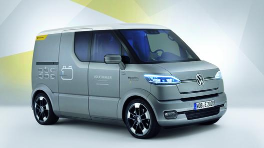 Volkswagen построил электрический почтовый фургон
