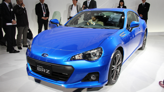 Subaru раскрыл серийный вариант купе BRZ