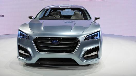 Прототипом нового Subaru WRX станет концепт Advanced Tourer