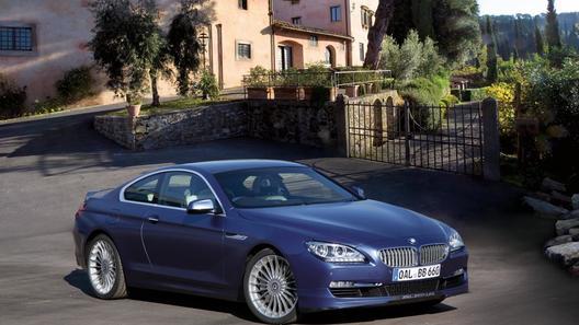 Компания Alpina показала свое новое большое купе