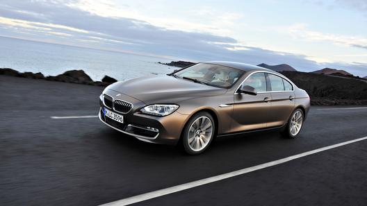 BMW представил четырехдверное купе 6 серии