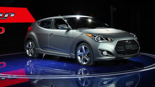 Hyundai показал в Детройте турбо-Veloster
