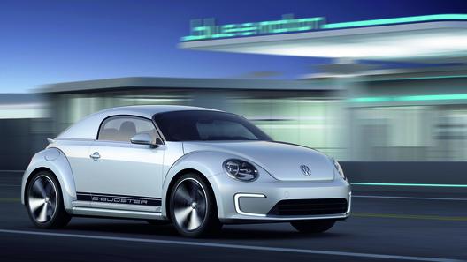 Volkswagen представит в Москве электрокар Beetle E-Bugster