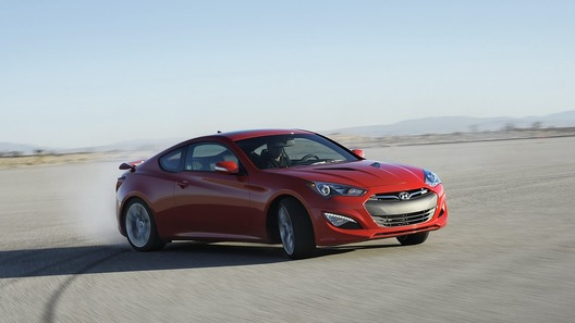 Обновленный Hyundai Genesis Coupe обойдется в 1 599 000 рублей