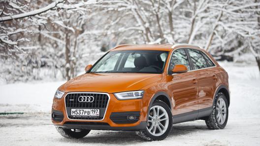 Audi Q3: часть 1 (489 км)