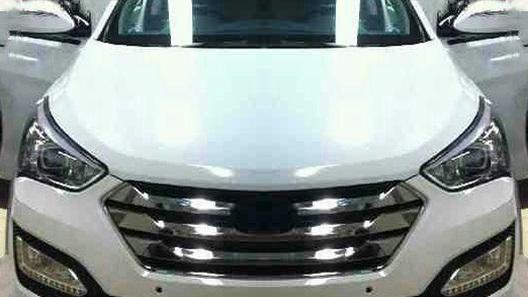 Hyundai Santa Fe получит кардинально обновленную внешность