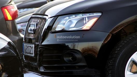 Шпионы засекли обновленный Audi Q5