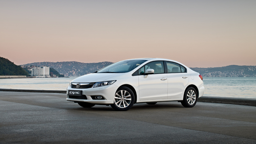 Новый Honda Civic 4D обойдется в 749 000 рублей