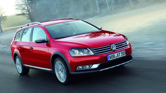 В России начались продажи Volkswagen Passat Alltrack
