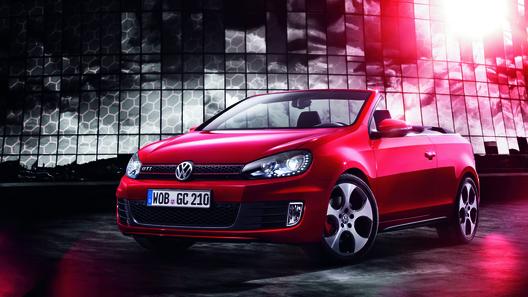 Volkswagen представил самый мощный Golf Cabriolet