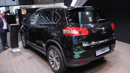 Peugeot 4008 дебютировал в Женеве