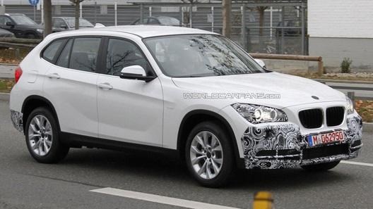 BMW X1 готовится к рестайлингу