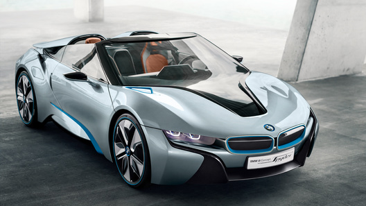 BMW привезет на Московский автосалон концепт i8 Spyder