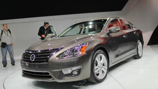 Стартовало серийное производство Nissan Altima