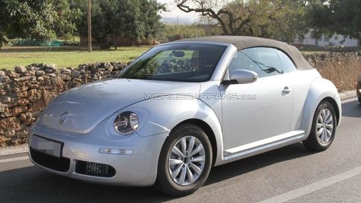 Volkswagen готовит кабриолет на базе Beetle