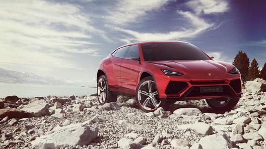 Lamborghini представила свой кроссовер Urus Concept
