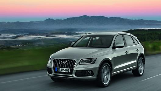 Audi официально представил обновленный кроссовер Q5