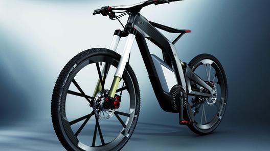 В Audi разработали карбоновый электровелосипед