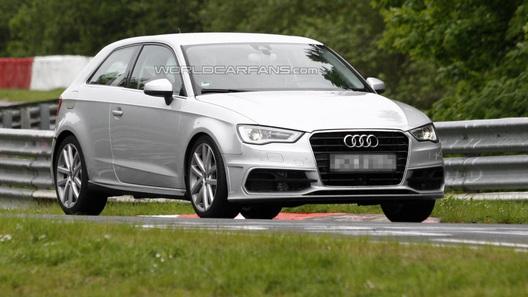 Audi S3 засветился на дорожных тестах