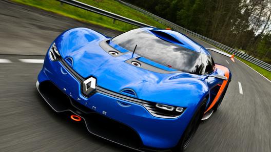 Renault официально представил возрожденный бренд Alpine