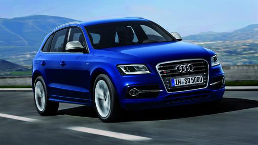 Audi SQ5 получил 313-сильный дизельный двигатель