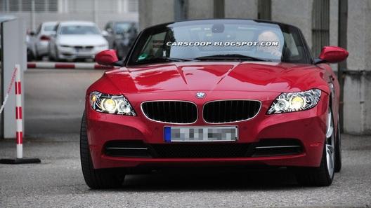 Фейслифт BMW Z4 будет минимальным