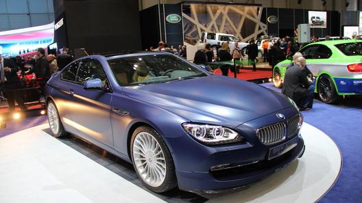 В России начались продажи нового BMW Alpina B6