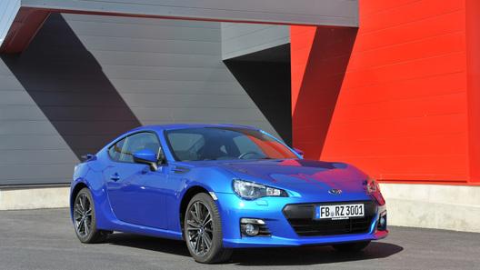 Subaru может отказаться от выпуска купе BRZ