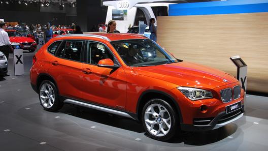 Представленный на ММАС BMW X1 оценили в 1,3 млн рублей