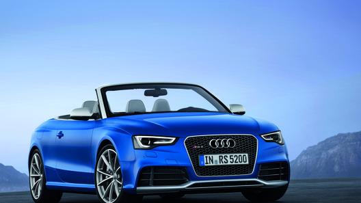 Audi представил первый кабриолет RS 5 за 88,5 тысяч евро