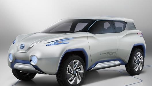 Nissan представит в Париже прототип экологически чистого кроссовера