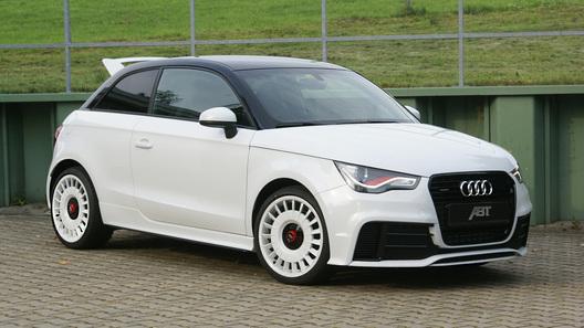Audi A1 Quattro сделали мощнее, чем Audi S3
