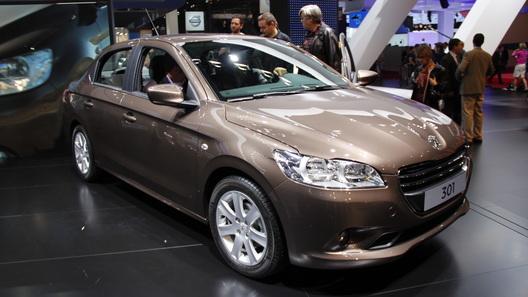 Новинку Peugeot 301, наконец, показали