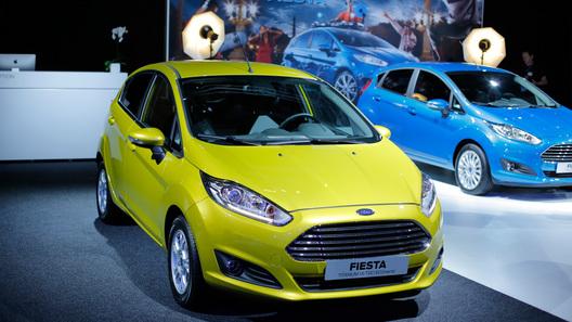 Обновленная Ford Fiesta появится в России в следующем году