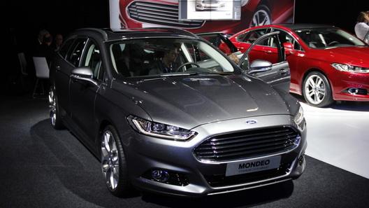 Новое поколение Ford Mondeo представлено в Париже