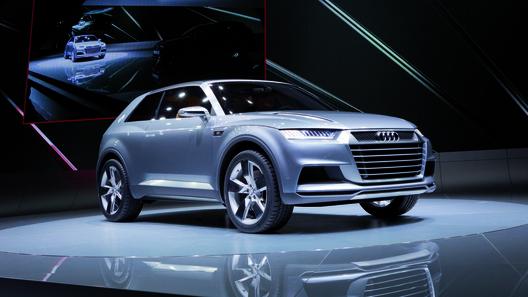 Audi намекает на расширение Q-семейства концептом crosslane coupe
