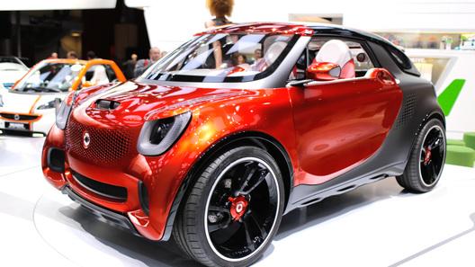 Smart привез в Париж концептуальное купе для кинозвезд