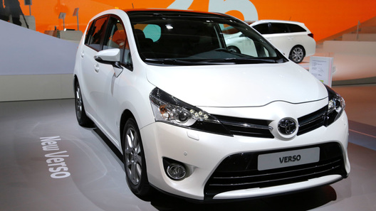 Toyota продемонстрировала обновленный Verso